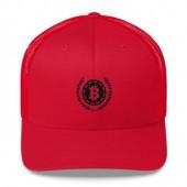 Cap mit Bitcoin Logo